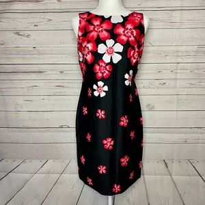 Sandra Darren Floral Sleeveless Dress